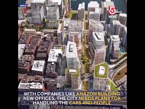 Fly above Boston traffic in a gondola?