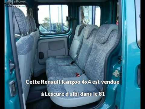 renault kangoo 4x4 occasion visible lescure d albi pr sent e par sn diffusion youtube. Black Bedroom Furniture Sets. Home Design Ideas