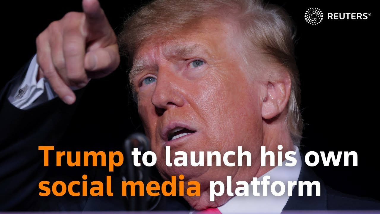 Trump wants back on social media, launching 'Truth Social' to take ...