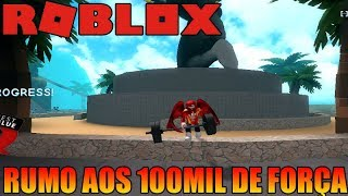 ROBLOX-AM THE STRONGEST SERVER-BOXING SIMULATOR 2