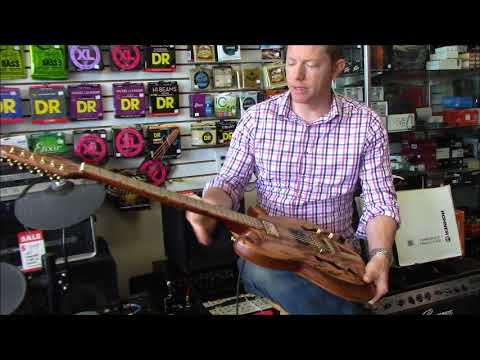 coyle guitars demo Marblewood Model R