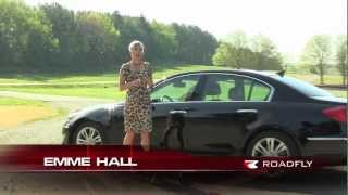 2012 Hyundai Genesis Test Drive Car Review with Emme Hall by RoadflyTV