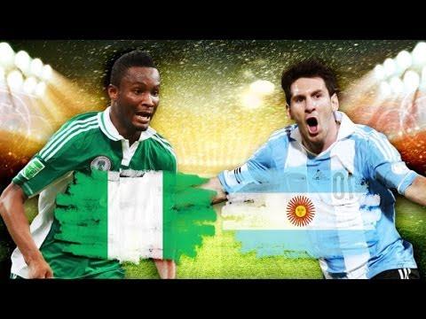 NIGERIA vs ARGENTINA » 2014 FIFA World Cup Brazil » FIFA 14 Prognose [HD+]