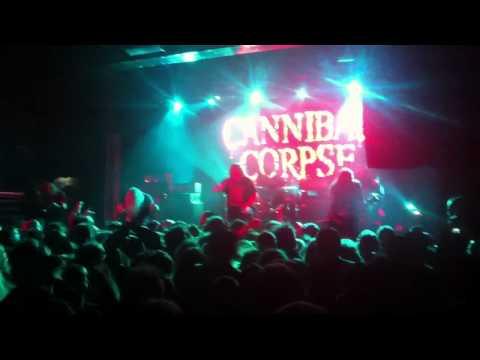 Cannibal Corpse - Billboard The Venue Melbourne 2012