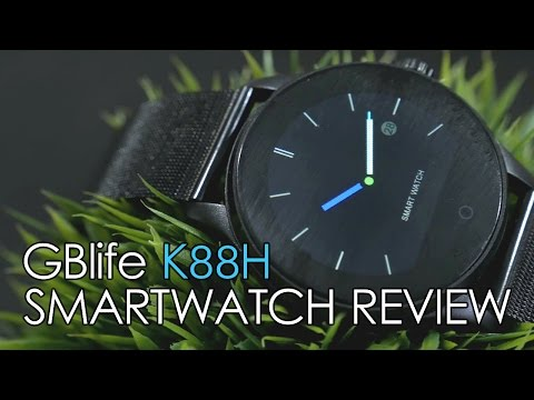 K88H Smartwatch Review (iOS)
