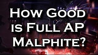 How Good is Full AP Malphite? | League of Legends