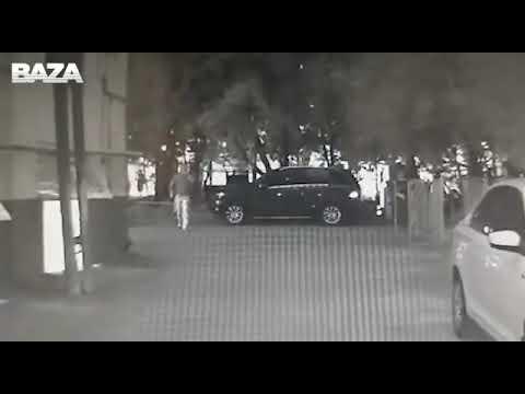 """Нападение на главу """"Фонда Кино"""" в Москва – КАМЕРЫ НАБЛЮДЕНИЯ"""