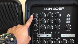 Portable PA System JBL EON 208p (Review-unbox-thoughts)