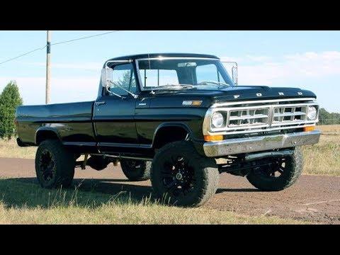 1971 FORD F250 4x4 Sport Custom Build Project