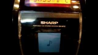 sharp gx-m10 red with bass i love you