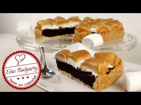Brownie Marshmallow Kuchen Schokoladig Herb Und Nicht Zu Suss