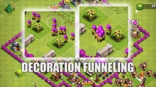 Clash of Clans - Part 27 - Decoration Funnelling
