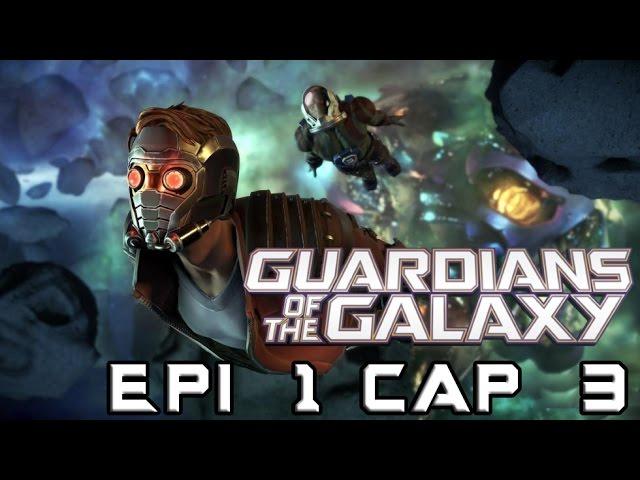 Telltale Series: Guardianes de la Galaxia Epi 1 Cap 3 - Rocket siempre lleva la razón