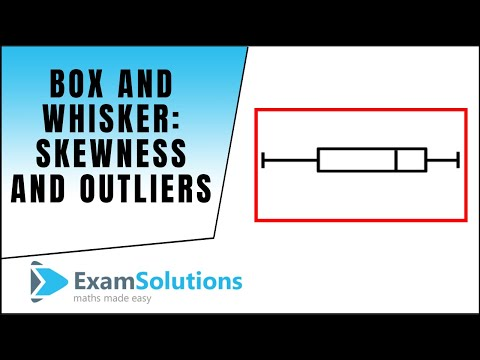 Box and Whisker Plots : Skewness and Outliers. : ExamSolutions