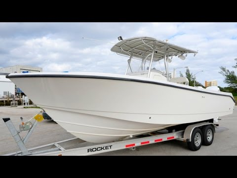 2003 EDGEWATER 26 CENTER CONSOLE FOR SALE ONLY 600HRS