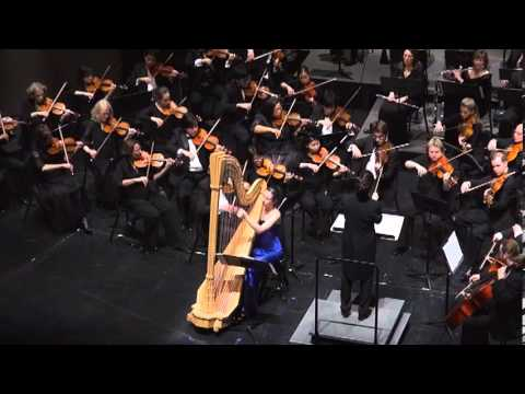 Concierto de Aranjuez - Joaquin Rodrigo (Texas Medical Center Orchestra - Emily Klein, Harp)