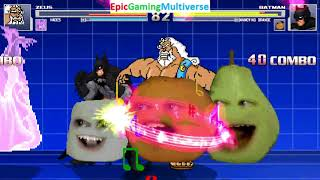 Zeus The God And Hades VS Batman And The Annoying Orange In A MUGEN Match / Battle / Fight