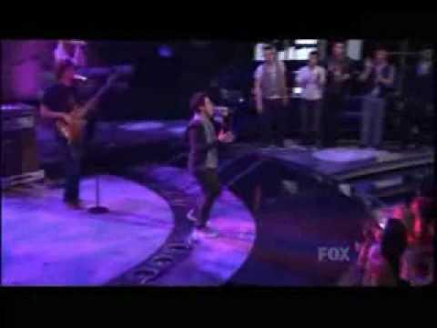 David Archuleta - Touch My Hand - American Idol April 22,2009