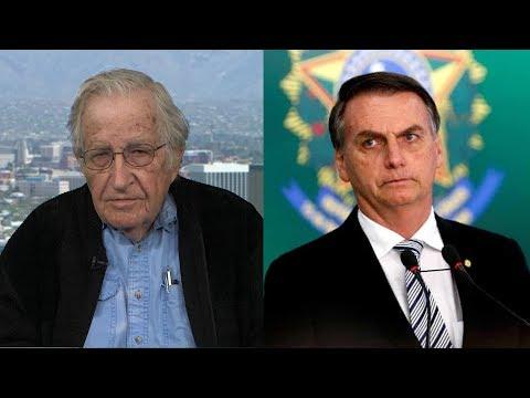 "After Visiting Brazil's Lula in Prison, Noam Chomsky Warns Against ""Disaster"" Under Jair Bolsonaro"