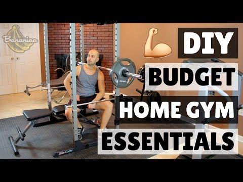 How to Build a Home Gym on a Budget | DIY Home Gym Equipment Essentials