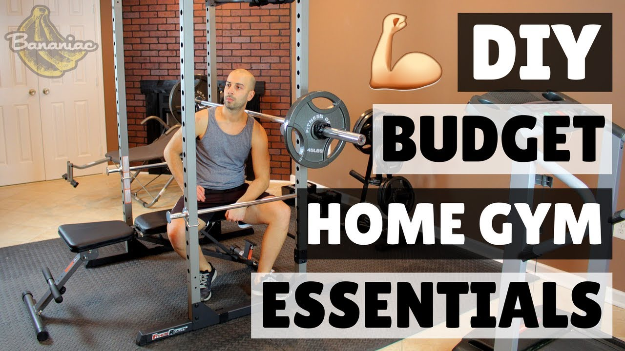 How to build a home gym on budget diy