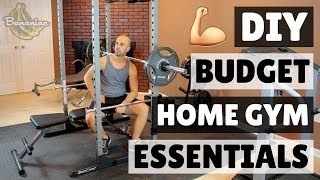 How To Build A Home Gym On A Budget | Diy Home Gym Equipment Essentials