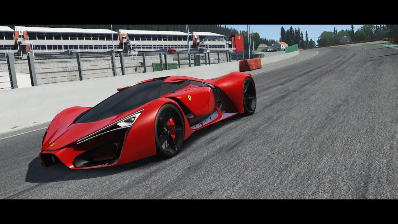 Assetto Corsa Ferrari F80 Concept - YouTube