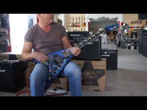Dean Guitars - Geoff Sinker checks out the Dave Mustaine Rust In Peace VMNT Series