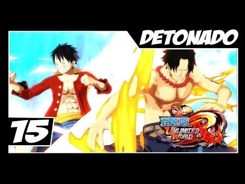 One Piece Unlimited World Red - Detonado Parte #15 - Luffy e Ace VS AKAINU!!! Muito foda!!!