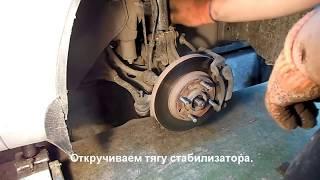 Как снять рейку Chevrolet Aveo Sedan 1.6 LT (шанхаец) , рейка 7069974123(, 2014-09-29T10:58:07.000Z)