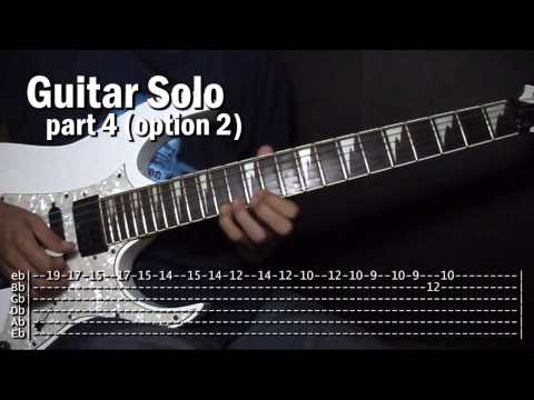 Pagsubok Orient Pearl Guitar Solo Tutorial Lesson (WITH TABS)