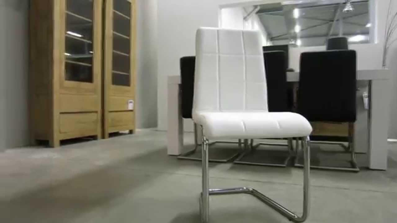 Buis frame stoel floor eks wit youtube