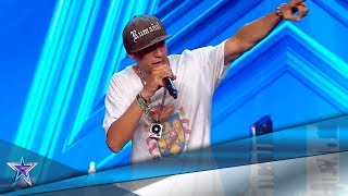 This RAPPER Send A STRONG Message About SPANISH IDENTITY | Auditions 5 | Spain's Got Talent Season 5
