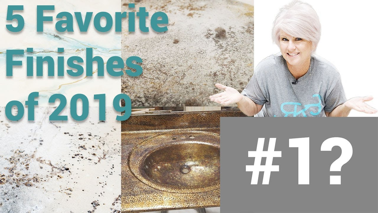 5 Favorite Stone Coat Countertop Finishes of 2019