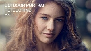 Natural Outdoor Portrait Retouching in Photoshop (Part 1)
