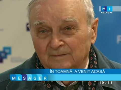 Ion Druță.La Radio Moldova - octombrie 2013