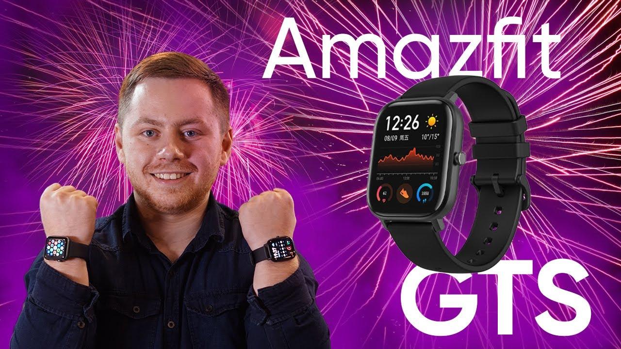 На какой руке Apple Watch и Amazfit GTS? Обзор умных часов Amazfit GTS