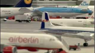 5 milyon dolarlık minyatür havaalanı