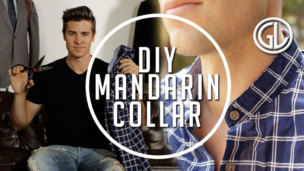 223743a753 How to  Make a DIY Mandarin Collar