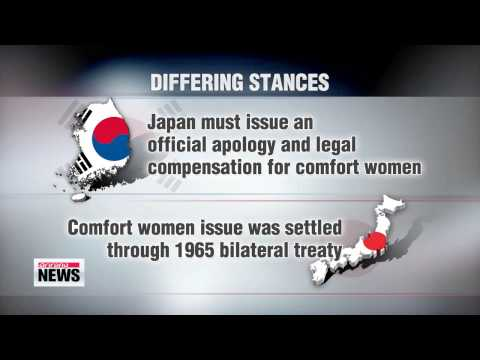 Korea and Japan to discuss comfort women issue