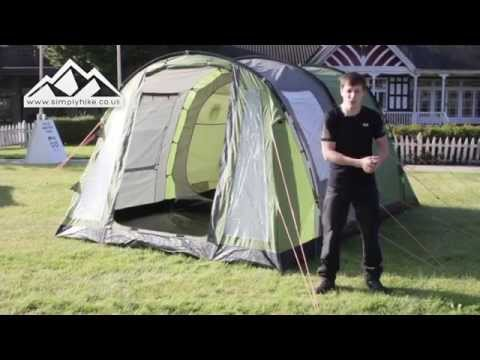 7e05a62e489 Coleman Cook 4 Tent - www.simplyhike.co.uk - YouTube