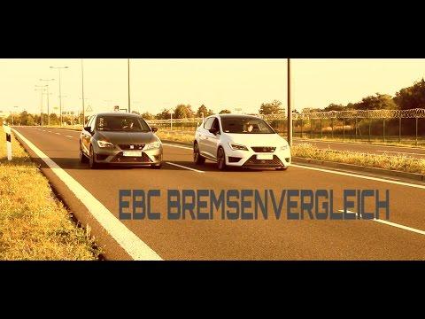 EBC - Bremsenvergleich Original VS. EBC