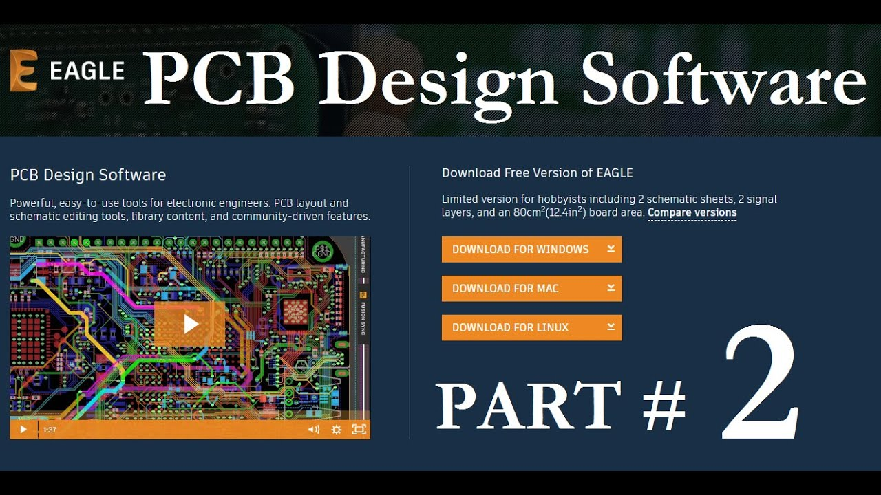 How To Use Eagle Pcb Design Software For Beginners In Hindi Urdu Youtube