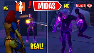 I Became BOSS Shadow Midas In Fortnite