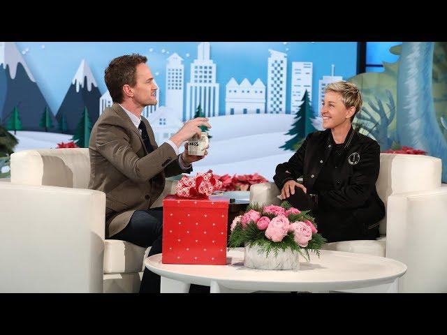 Neil Patrick Harris Magic Trick Blows Ellens Mind