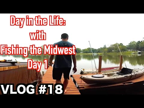 Fishing the midwest 2016 episode 12 school of fish for Fishing the midwest
