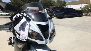 2013 Kawasaki Ninja 636 / Carbon Fiber Two Brothers Exhaust Sound Clip
