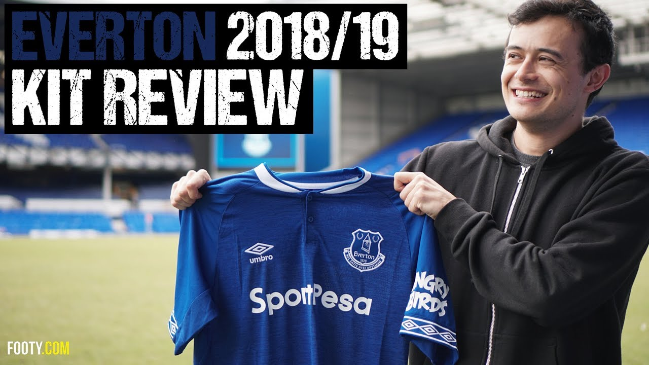 2d9b2f4892d The Premier League's Best Shirt? | EVERTON 2018/2019 SHIRT UNBOXING AT  GOODISON PARK