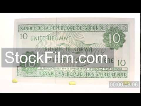 New Burundian 10 Franc