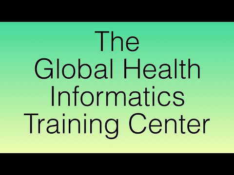 The Global Health Informatics Learning Center